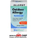 NatraBio, bioAllers, лечение аллергии, аллергия на открытом воздухе, 60 таблеток