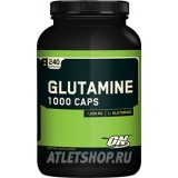 Optimum Nutrition Glutamin 240 cap . USA