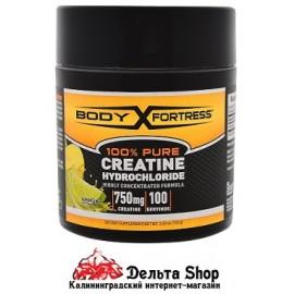 Body Fortress 100% чистый креатин HCL лимон-лайм 100 г
