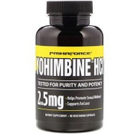 Primaforce Yohimbine HCl 2,5 мг 90 капсул