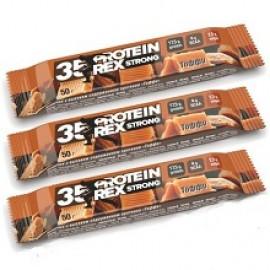 ProteinRex протеиновый батончик Strong 35% 50г тоффи