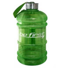 Бутылка для воды Be First 2200 мл (зелёная прозрачная)