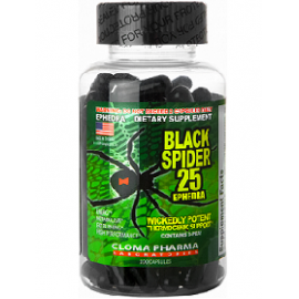 Cloma Pharma Laboratories Black Spider 25 100cap