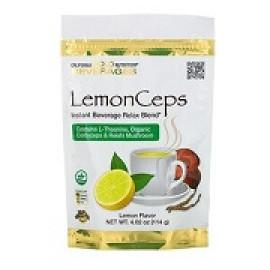 California Gold Nutrition LemonCeps расслабляющий напиток с L-теанином 114gr