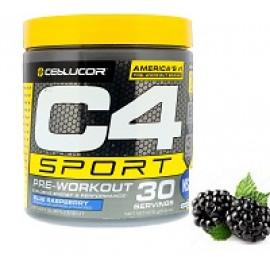 Cellucor C4 Sport предтренировочный голубая малина  270gr