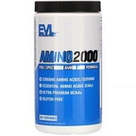 EVLution Nutrition AMINO2000 средство с аминокислотами полного спектра действия 480 таблеток
