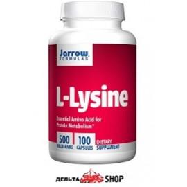 Jarrow Formulas L-lysine 500 mg 100 kap