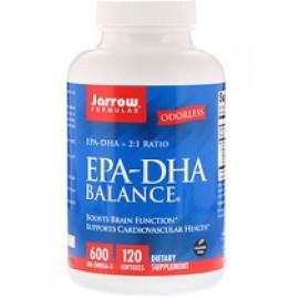 Jarrow Formulas EPA-DHA Balance 120 мягких таблеток