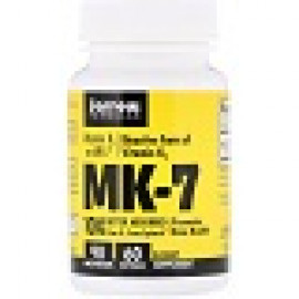 Jarrow Formulas MK-7 витамин K2 в форме MK-7 90 мкг 60 мягких таблеток