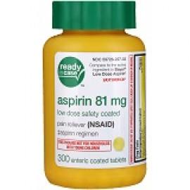 Life Extension Аспирин 81мг 300 таблеток покрытый кишечнорастворимой оболочкой