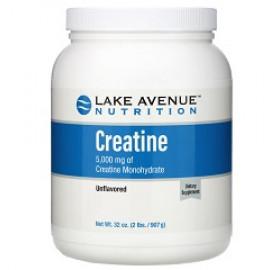 Lake Avenue Nutrition креатин в порошке с нейтральным вкусом 907 г