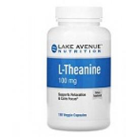 Lake Avenue Nutrition L-теанин 100мг 180 капсул