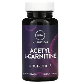 MRM Acetyl L-Carnitine 60 kap