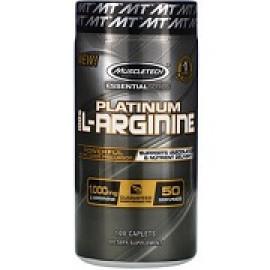 Muscletech Platinum 100% L-Arginine 1000 мг 100 таблеток
