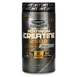 Muscletech Essential Series Platinum 100% Creatine 2500 120 Caplets