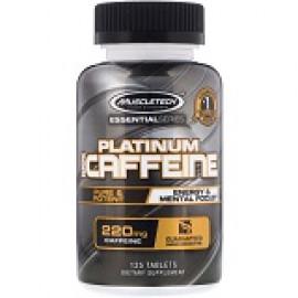 Muscletech Essential Series Платина 100% кофеин 220 мг, 125 таблеток