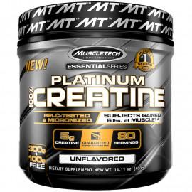 Muscletech, Essential Series, Platinum 100%, креатин, без добавок, 400 г