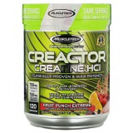 Muscletech Performance Series CREACTOR Creatine HCl Formula Fruit Punch Extreme 269g