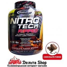 Muscletech USA Nitro Tech Ripped + формула для снижения веса 1810 gr