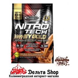 Muscletech Nitro Tech 100% Whey Gold двойной шоколад 3,63 кг