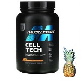 Muscletech Cell Tech Research-Backed Creatine + Carb Musclebuilder Tropical Citrus Punch 1.36 kg