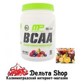 MusclePharm BCAA Essentials Fruit Punch 516gr