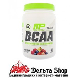 MusclePharm USA BCAA Essentials Fruit Punch 516 gr