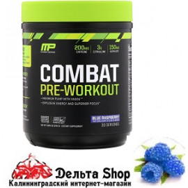 MusclePharm Combat Pre-Workout Blue Raspberry 279gr