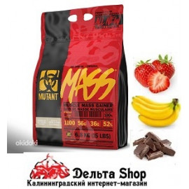 FIT FOODS MUTANT MASS гейнер 6800 гр