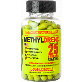 Cloma Pharma Laboratories MethylDrene 25 100cap