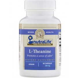 NutraLife L-теанин 200 мг 60 капсул