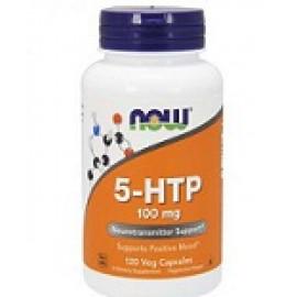 Now Foods 5-гидрокситриптофан 100 мг, 120 растительных капсул