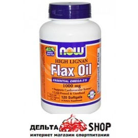 Now Foods льняное масло 1000 mg 120 kap