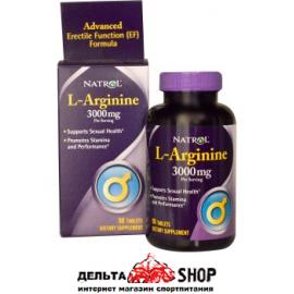 Natrol L-аргинин 3000 мг 90 таблеток