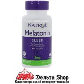 Natrol Melatonin Time Releasc 3 mg 100 tab