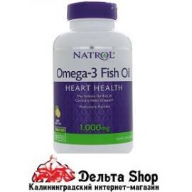 Natrol Omega-3 Fish oil 150 kap