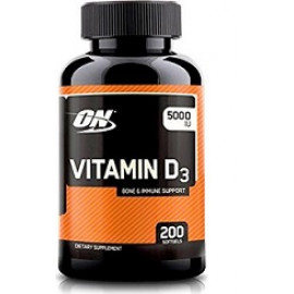 Optimum Nutrition Vitamin D 5000 IU 200cap