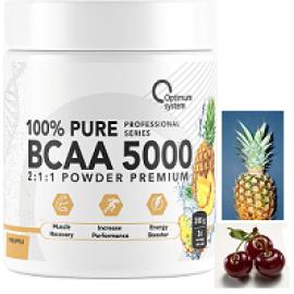 Optimum System 100% Pure BCAA 5000 200gr