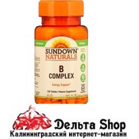 Sundown Naturals Комплекс В 100 таблеток