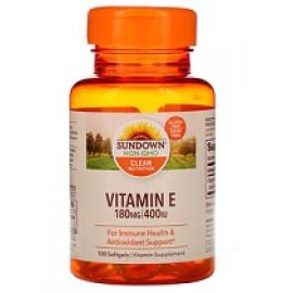 Sundown Naturals Витамин E 400 МЕ 100 мягких таблеток