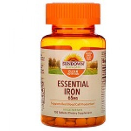Sundown Naturals Железо 65 мг 120 таблеток