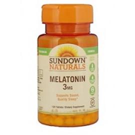 Sundown Naturals Мелатонин 3 мг 120 таблеток