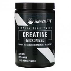 Sierra Fit Micronized Creatine Powder Unflavored 454g