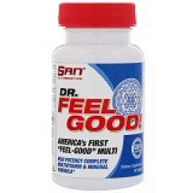 SAN Nutrition, Dr Feelgood, Multivitamin, 24 Tablets