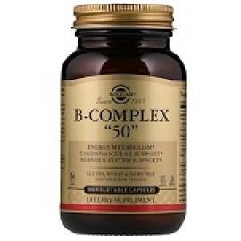 Solgar Комплекс витаминов группы B «50» 50 капсул