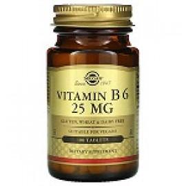 Solgar витамин В6 25 мг 100 таблеток