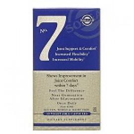 Solgar No.7 поддержка и комфортная работа суставов 30 растительных капсул