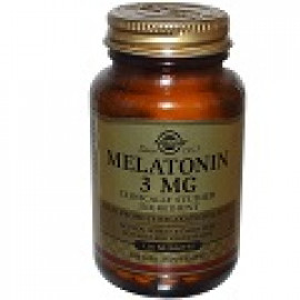 SOLGAR MELATONIN 3 MG 120 ТАБЛЕТОК