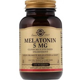 Solgar Melatonin 5мг 120таблеток