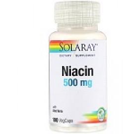 Solaray ниацин 500 мг 100 капсул